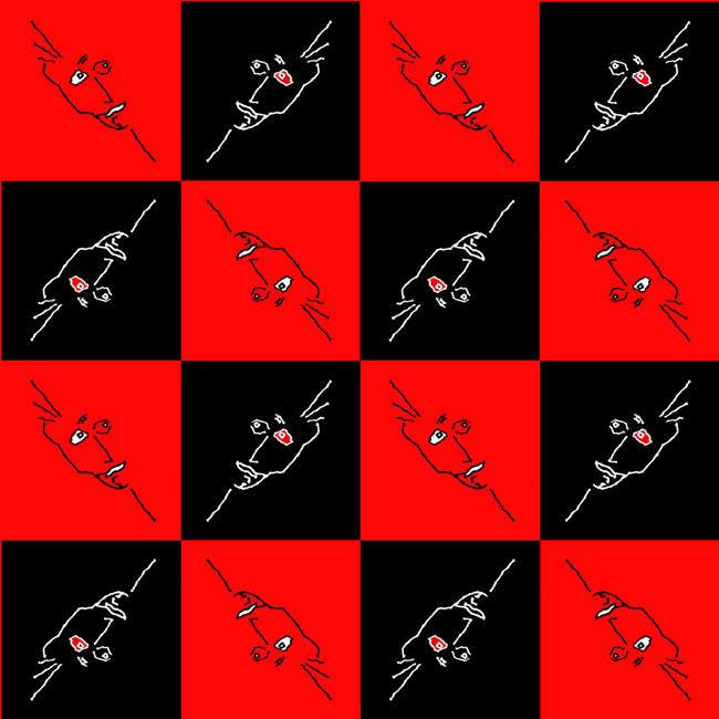 darren-quinn-angle-face-checker-board-red